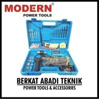 Paket Bor Listrik Modern M2130 B / M-2130 B Set Lengkap (BONUS KOPER)