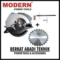 MODERN M2600L Circular Saw 7 Gergaji Listrik Circle Potong Kayu Mesin