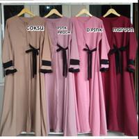 Gamis Ra Dress syar'i /Setelan Fashion muslim