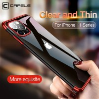CAFELE TRANSPARAN PLATING CASE FOR IPHONE 11/11 PRO/11 PRO MAX