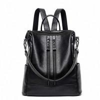 Freeknight Tas Ransel Wanita Backpack Casual PU Leather TR705