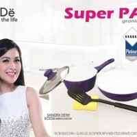Super Pan Keramik Set Purple Original Bolde 5 Pcs
