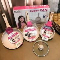 Super Pan Bolde |Panci Granite Ceramic Cookware Set|Superpan|Free Bubb