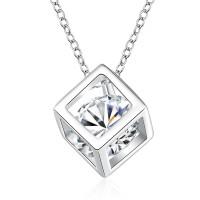 Tiaria Necklace SPCN750 Silver Plated Aksesoris Perhiasan Kalung