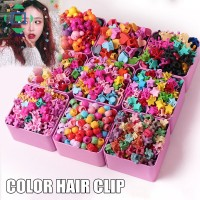 Terbaik Jepit Rambut Mini Model Bunga Gaya Korea Warna Warni untuk
