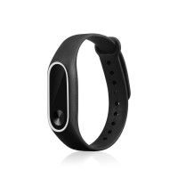 Terlaris zzone2 Colors Silicon Wrist Strap For Xiaomi MI Band 2