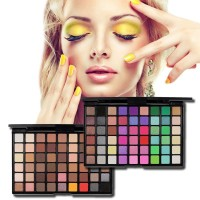 Lucu Professional Makeup 54 Colors Eyeshadow Palette Shimmer And