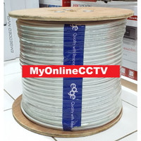 Kabel Camera CCTV Infinity Coaxial + Power RG59 Awet Kuat dan Bagus