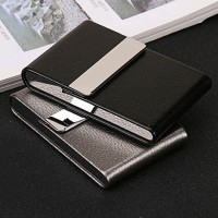 Kotak Bungkus Rokok Elegan Leather Cigarette Case Premium Quality