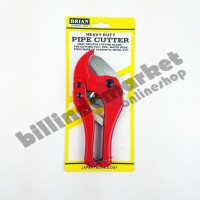 Brian Gunting Pipa Pipe Cutter PVC HEAVTY DUTY Stainless Steel