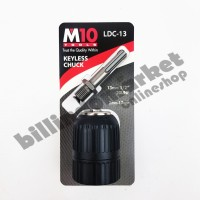 M10 Keyless Drill Chuck Kepala Bor 13mm 1/2 inch 20UNF 2mm-13mm