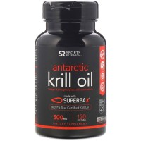 Sport Research Krill Oil 120 caps 500mg PREORDER