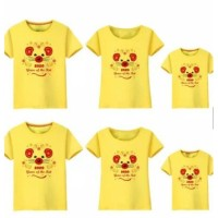 Baju Kaos Keluarga Family Couple Imlek Request Nama 2020 Mouse Rat