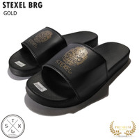STEXEL BRG Sandal Casual Surfing Terbaru PVC Pressed Rubber Original