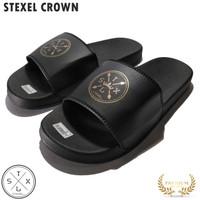 STEXEL CROWN Sandal Pria Surfing Selop PVC Pressed Rubber Original
