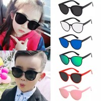 Kacamata Anak Anak Fashion Pria Wanita - silver