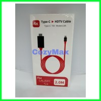 Type-C to HDMI / TypeC ke HDMI for Galaxy S9 Macbook and more NEW