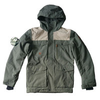 Quiksilver raft mission jacket green original