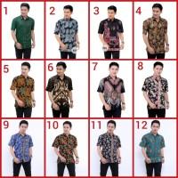 Batik Pekalongan Baju Kemeja Batik Pendek bukan solo jogja cirebon