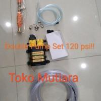 Paket Door Smeer double pump Cuci AC portable 120 psi Door smeer Cuci
