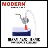 MODERN Pompa Oli Minyak Drum Tangan Putar Manual Rotary Hand Oil Pump