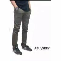 celana chino slimfit bahan stretch / celana pria