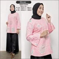 Atasan Batik Blouse M L XL #8