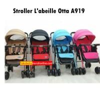 [BISA GOSEND] Stroller L'abeille Otta A919|Kereta Dorong Bayi Labeille