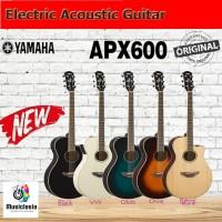 Gitar Akustik Elektrik YAMAHA APX600 / APX 600 (Penerus 500II / 500 ) - Black