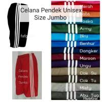 Celana Trening Pendek Jumbo - Celana Santai Olahraga Training Kolor