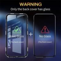 CASE SAMSUNG S8 MAGNETIC GLASS FULL PROTECTION ANTI BENTURAN