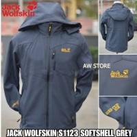 Jaket Gunung Outdoor Jack Wolfskin S1123 Softshell Waterproof
