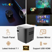 MINI SMART PROJECTOR DLP WEJOY DL-S12 ANDROID 7,1 WIFI BLUETOOTH 1080P