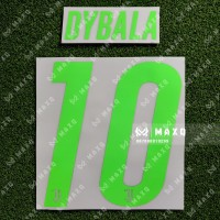 [ NAMESET ] JERSEY JUVENTUS PALACE 4th DYBALA TOP ORIGINAL QUALITY