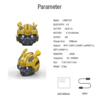 Speaker PortableWireless BumbleBee Transformer Speaker Bluetooth Robot