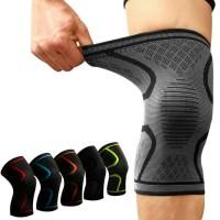 Aolikes Knee Pad Braces Elastis Nylon Sport Compression Knee