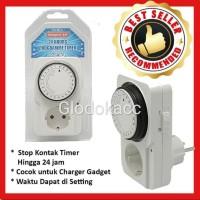 Stop Kontak / Kenmaster Stop Kontak Timer Analog