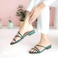 Sandal Wanita Hak Chunky Andara HT01