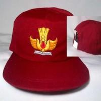topi sd / topi merah sd / topi sekolah / topi / topi seragam
