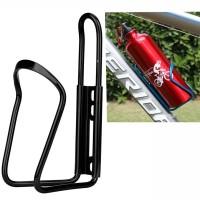 TaffSPORT Holder Botol Minum Sepeda Aluminium - YWPJ029-F - Black
