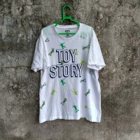 kaos Uniqlo X toy story second original