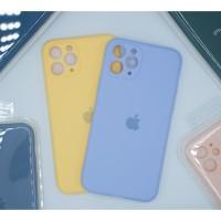 Casing iPhone 11 Pro Max Silicone Case Tipis Soft Case Silikon - Ungu