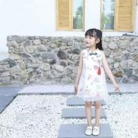 cheongsam anak perempuan / baju imlek/ dress anak