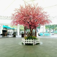 wisteria keladi pillow lily rambat dekorasi