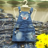 overall rok jeans anak Mickey 1-8th
