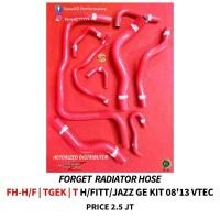 FORGED RACING RADIATOR HOSE FH-H F TGEK TH/FIIT/JAZZ GE KIT 08'13 VTEC