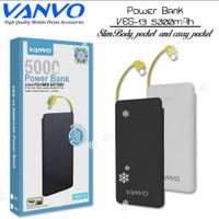Powerbank Vanvo VES-13 Slim 5000Mah