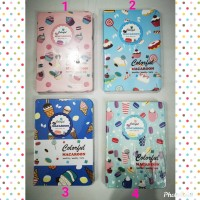 Weekly or Monthly Planner Colorful Macaroon