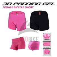 Celana Sepeda Wanita | Short Padding Gel 3D