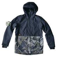 Quiksilver raft mission jacket camo original